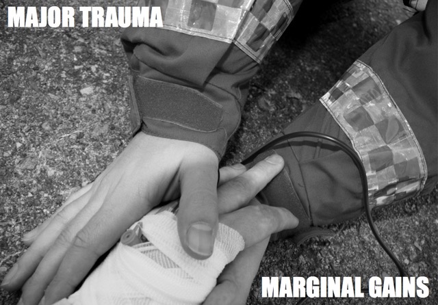 Major trauma, marginal gains