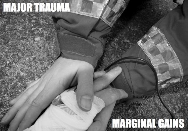 Major trauma, marginalgains