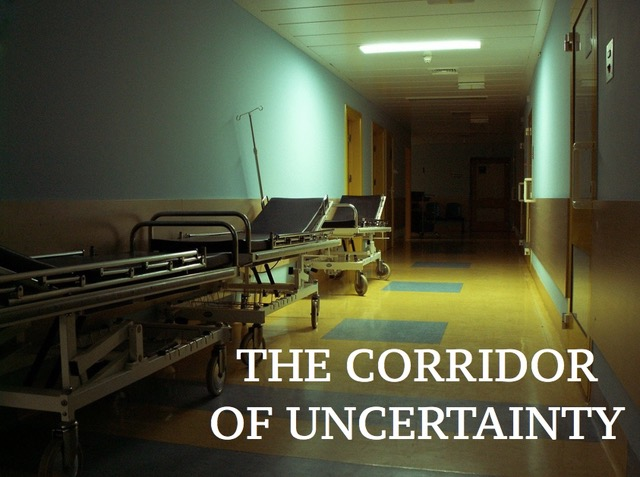 The corridor of uncertainty