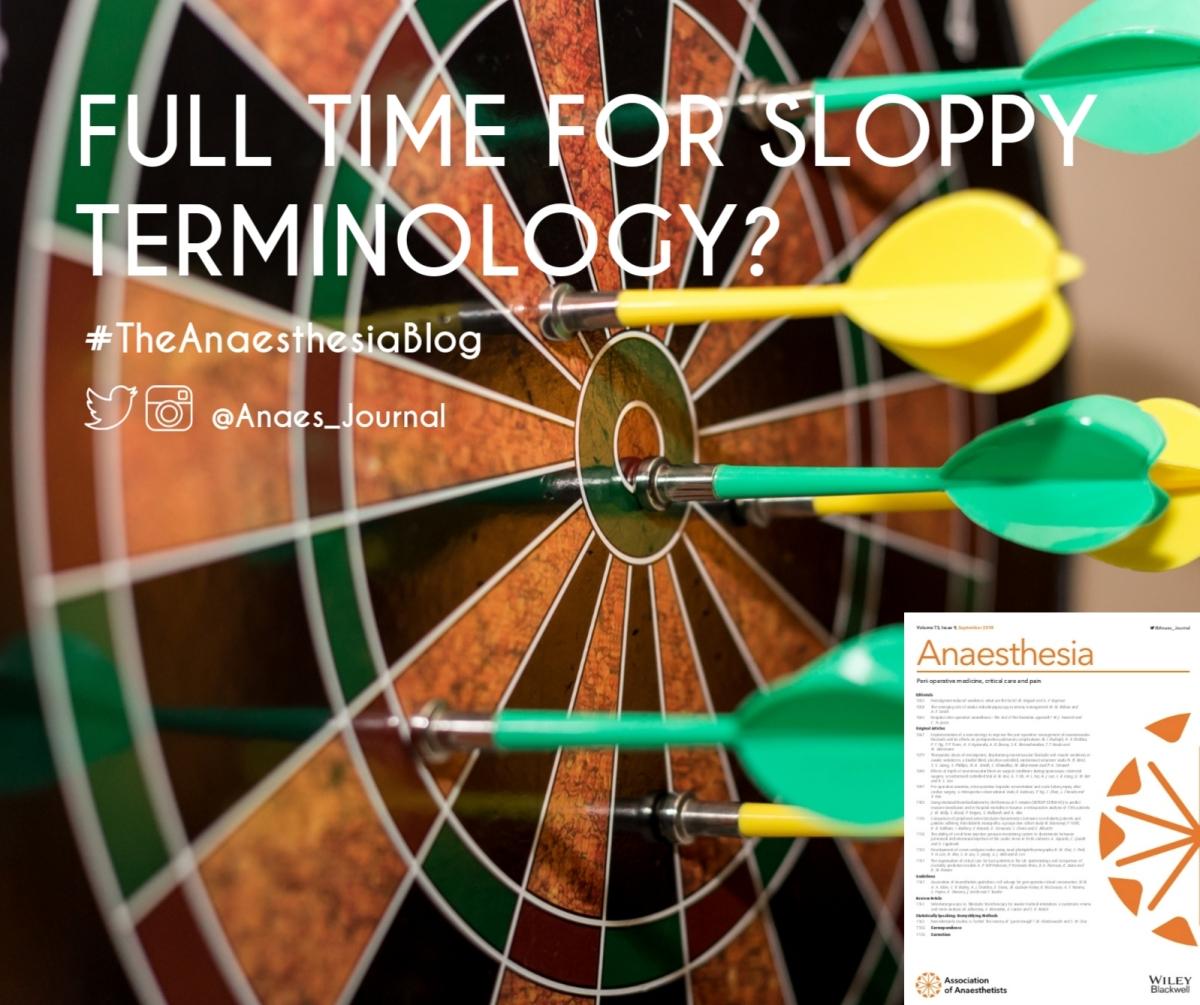 Full time for sloppyterminology?