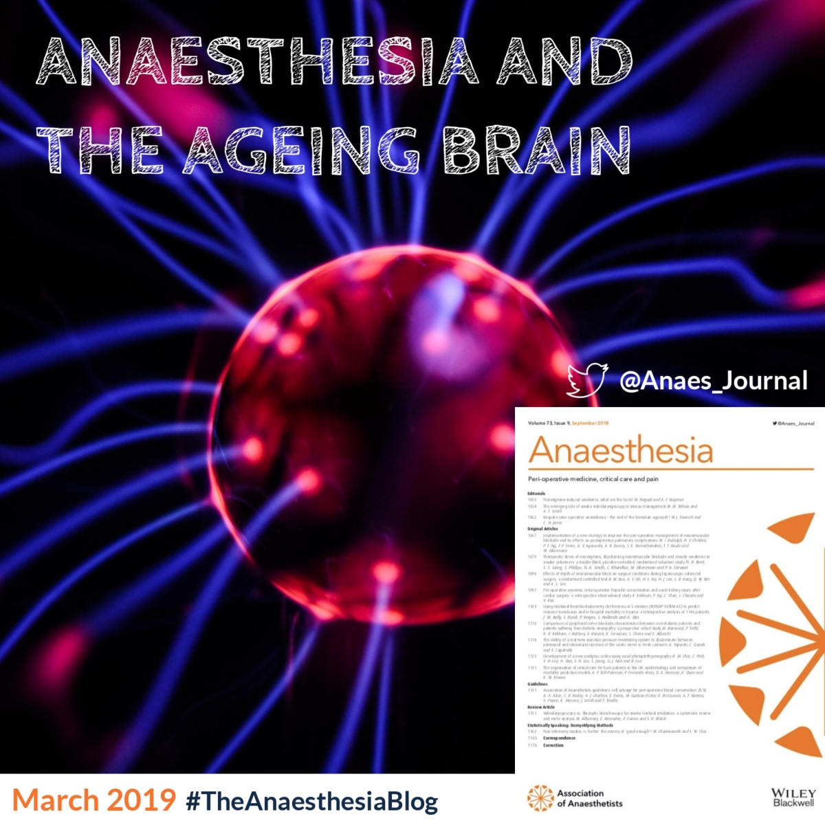 Anaesthesia and the ageing brain