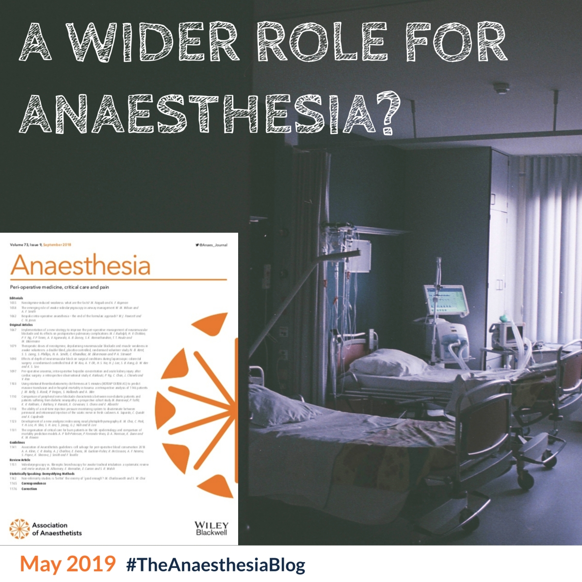 A wider role for anaesthesia?