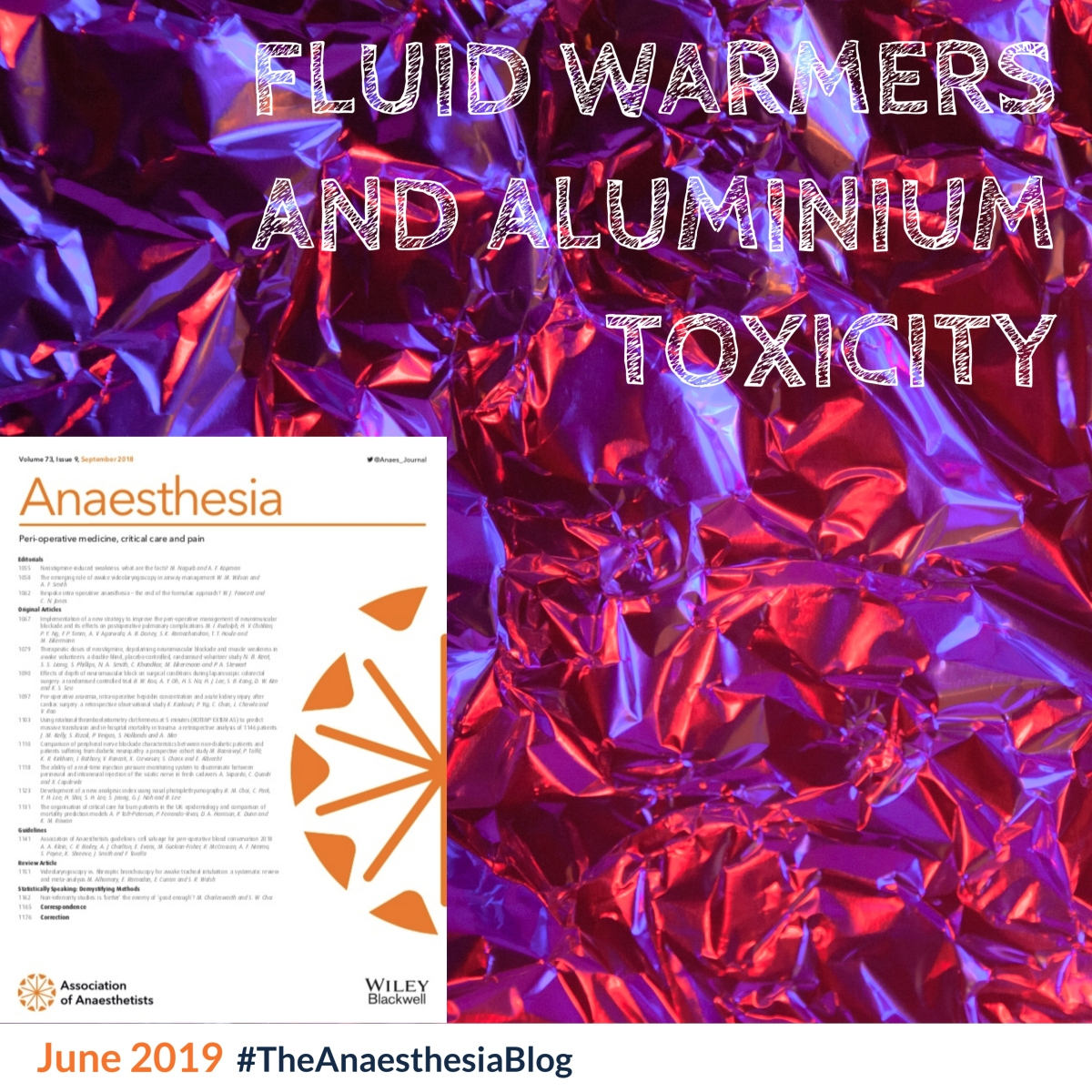 Fluid warmers and aluminium toxicity