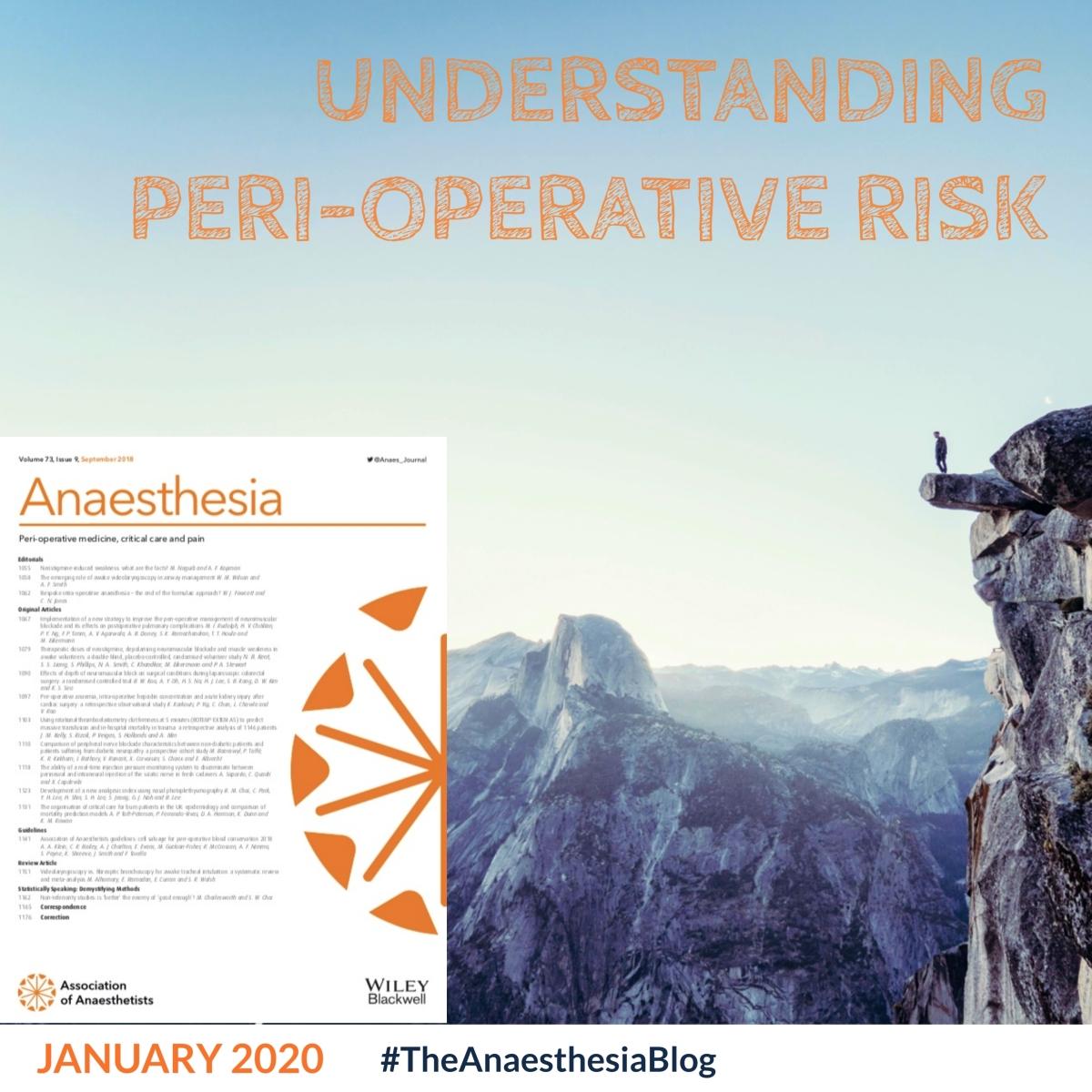 Understanding peri-operative risk
