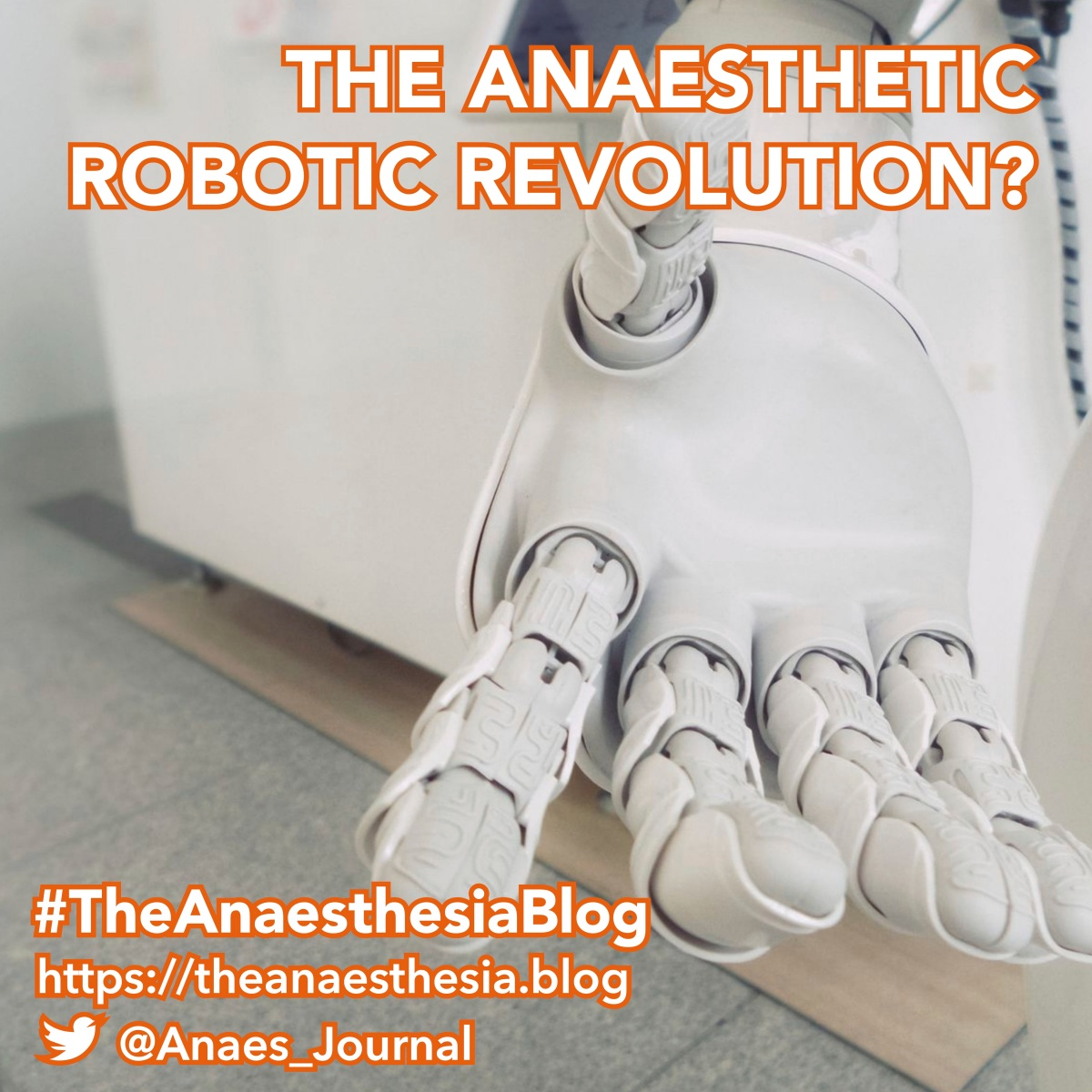 The anaesthetic robotic revolution?