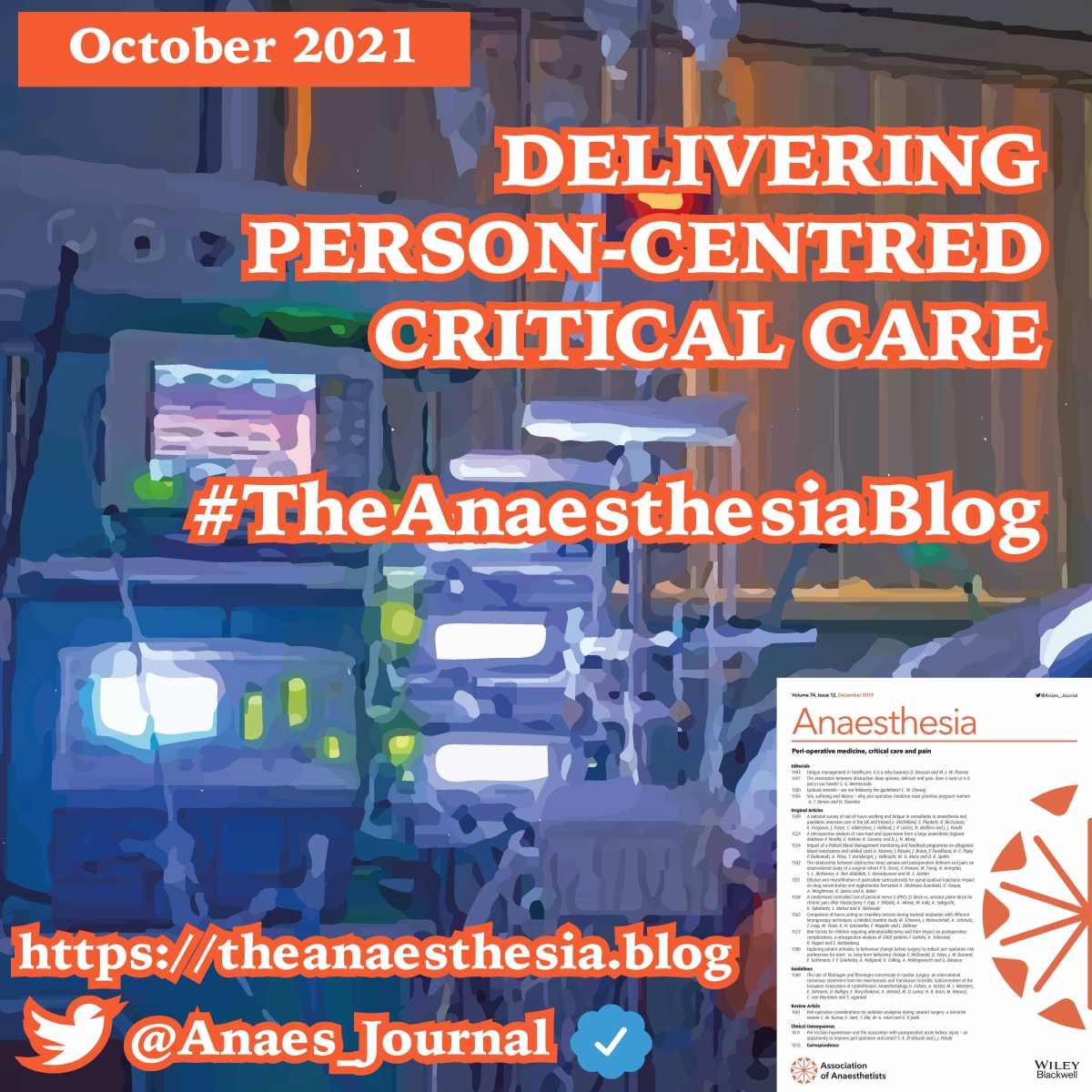 Delivering person-centred criticalcare